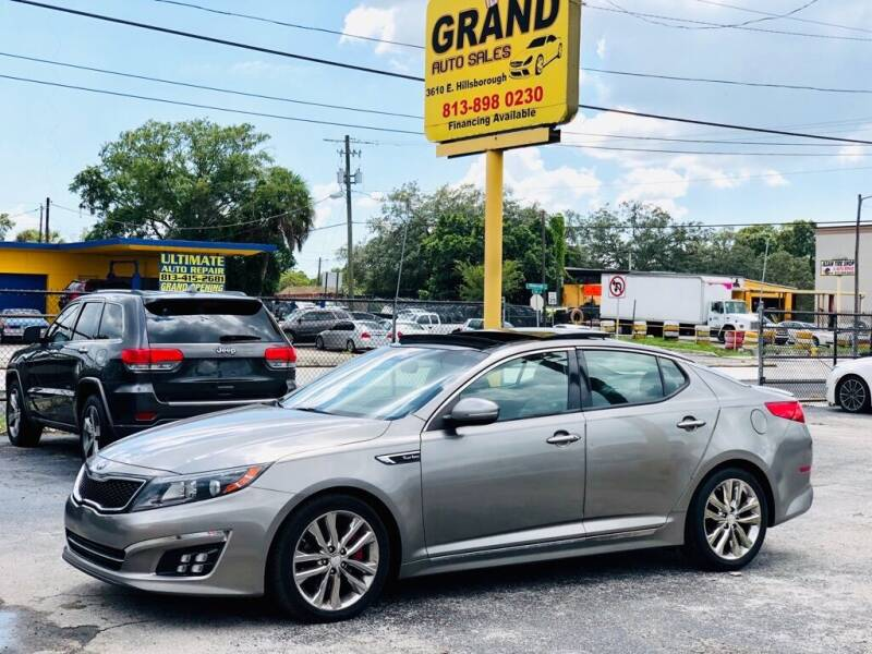 2015 Kia Optima for sale at Grand Auto Sales in Tampa FL