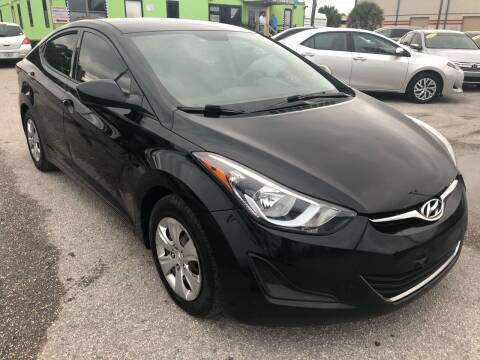 2016 Hyundai Elantra for sale at Marvin Motors in Kissimmee FL