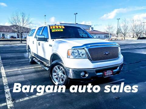 2007 Ford F-150 for sale at Bargain Auto Sales LLC in Garden City ID