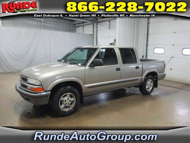 2002 Chevrolet S-10 for sale at Runde Chevrolet in East Dubuque IL