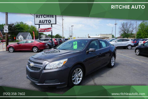 2013 Chevrolet Malibu for sale at Ritchie Auto in Appleton WI