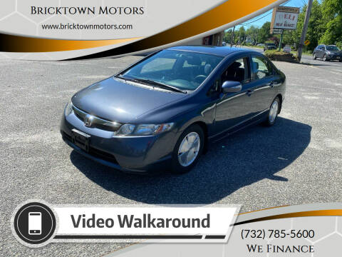 2008 Honda Civic for sale at Bricktown Motors in Brick NJ