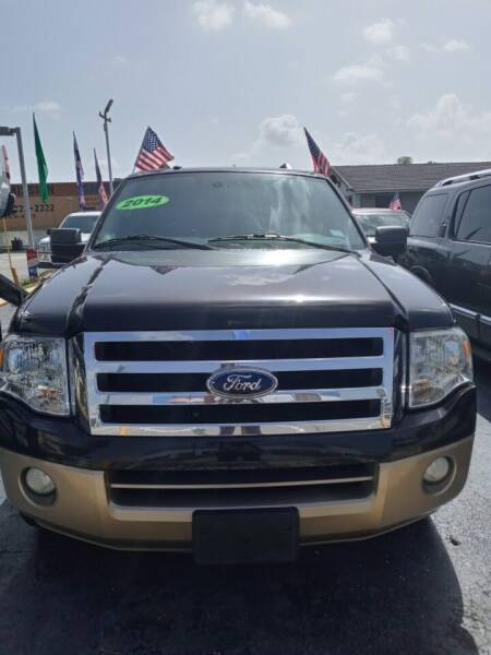 2014 Ford Expedition for sale at Navarro Auto Motors in Hialeah FL