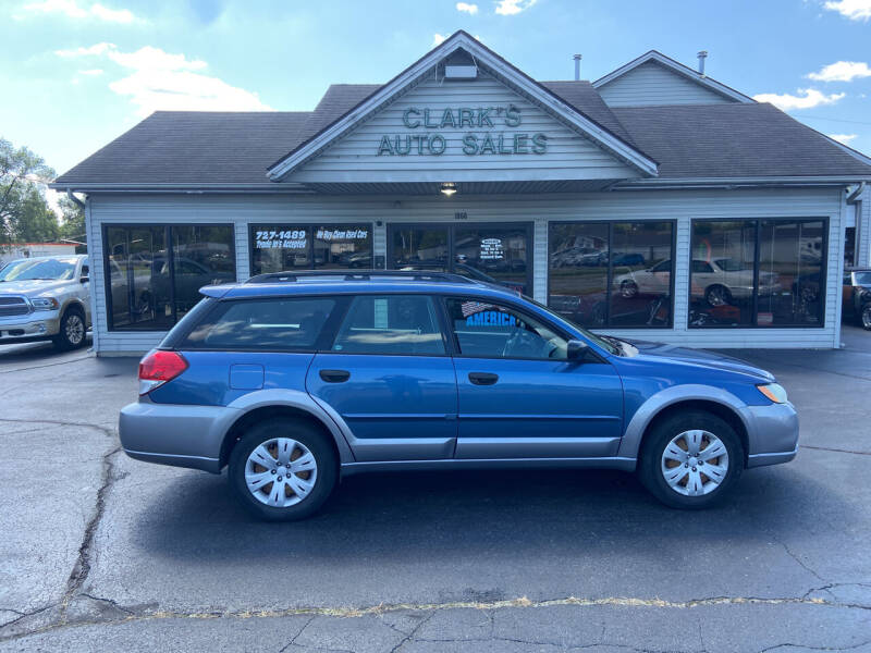 2008 Subaru Outback for sale at Clarks Auto Sales in Middletown OH