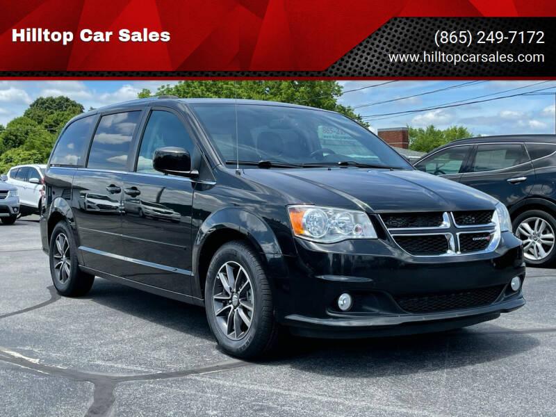2017 Dodge Grand Caravan for sale at Hilltop Car Sales in Knox TN