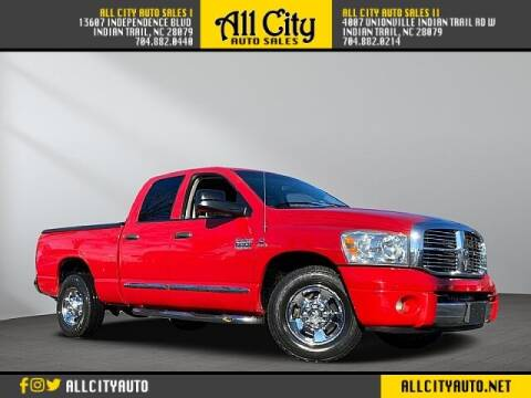 2007 Dodge Ram Pickup 2500 for sale at All City Auto Sales in Indian Trail NC