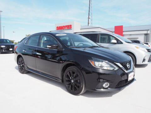 2017 Nissan Sentra for sale at SIMOTES MOTORS in Minooka IL
