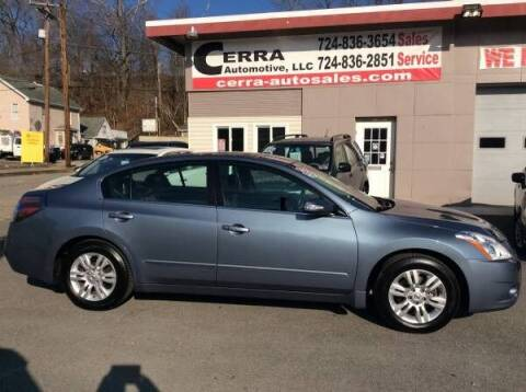 2012 Nissan Altima for sale at Cerra Automotive LLC in Greensburg PA