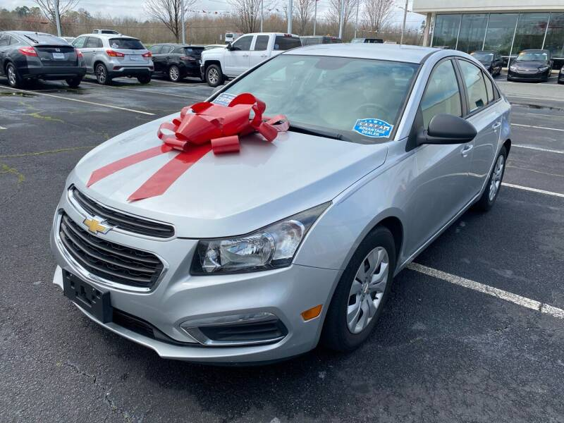 2015 Chevrolet Cruze for sale at Charlotte Auto Group, Inc in Monroe NC