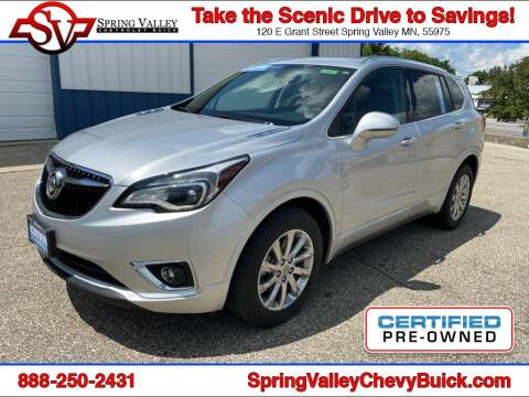 2019 Buick Envision for sale at Spring Valley Chevrolet Buick in Spring Valley MN