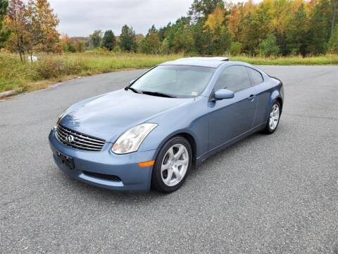 2005 Infiniti G35 for sale at Apex Autos Inc. in Fredericksburg VA
