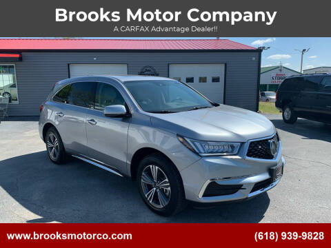2017 Acura MDX for sale at Brooks Motor Company in Columbia IL