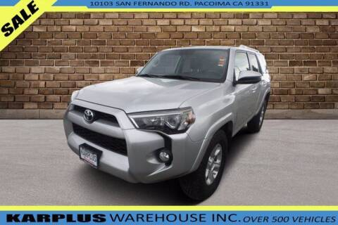 2014 Toyota 4Runner for sale at Karplus Warehouse in Pacoima CA