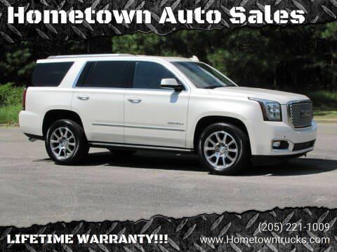 2015 GMC Yukon for sale at Hometown Auto Sales - SUVS in Jasper AL