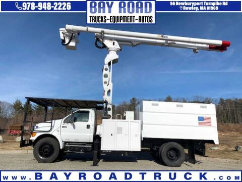 2010 Ford F-750 Super Duty for sale at Bay Road Trucks in Newbury MA