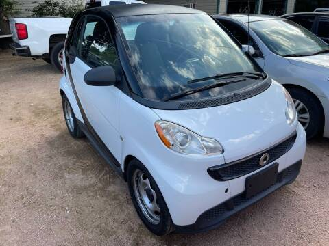 2014 Smart fortwo for sale at S & J Auto Group in San Antonio TX