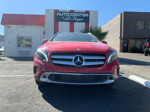 2016 Mercedes-Benz GLA for sale at Auto Center Of Las Vegas in Las Vegas NV