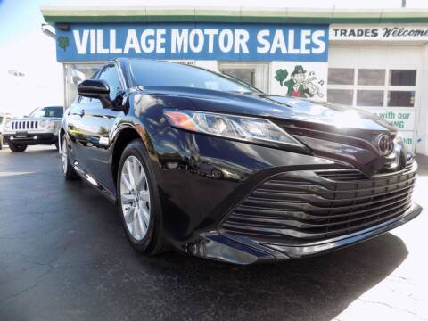 2018 Toyota Camry for sale at Village Motor Sales in Buffalo NY