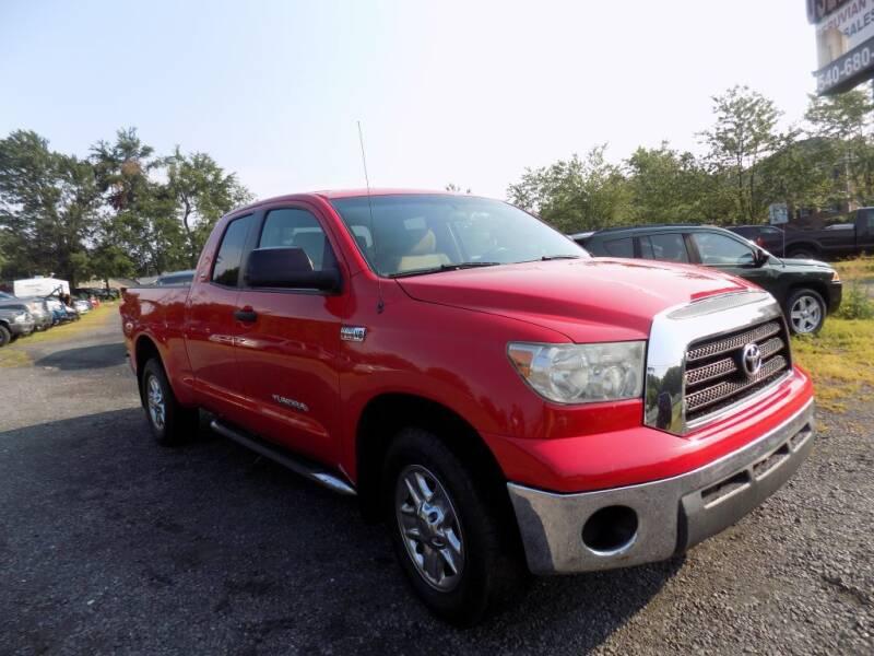 2007 Toyota Tundra for sale at PERUVIAN MOTORS SALES in Warrenton VA