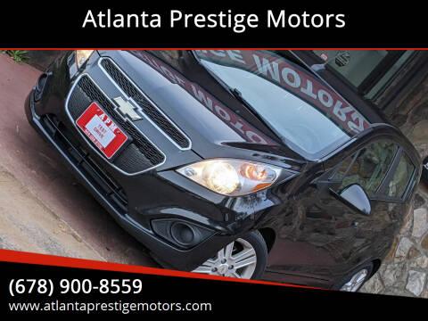 2013 Chevrolet Spark for sale at Atlanta Prestige Motors in Decatur GA