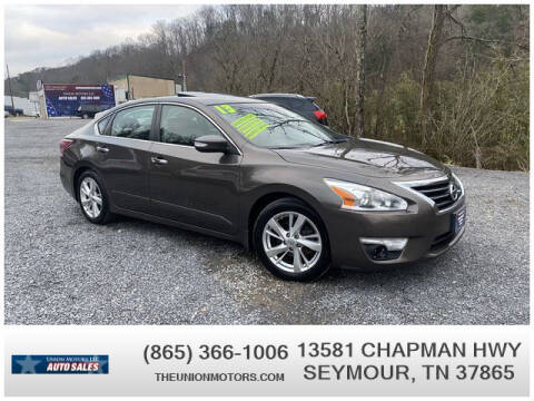 2013 Nissan Altima for sale at Union Motors in Seymour TN