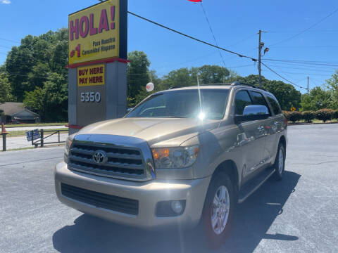 2008 Toyota Sequoia for sale at No Full Coverage Auto Sales in Austell GA