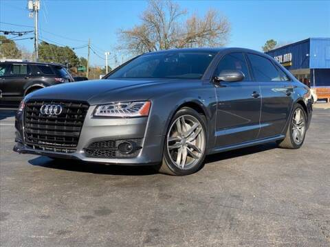 2017 Audi A8 L for sale at iDeal Auto in Raleigh NC