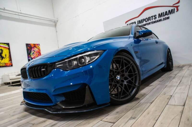 2020 BMW M4 for sale at AUTO IMPORTS MIAMI in Fort Lauderdale FL