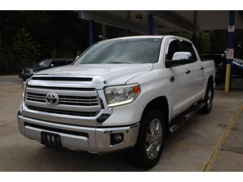 2015 Toyota Tundra for sale at Inline Auto Sales in Fuquay Varina NC