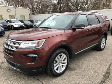 2018 Ford Explorer for sale at SKY AUTO SALES in Detroit MI