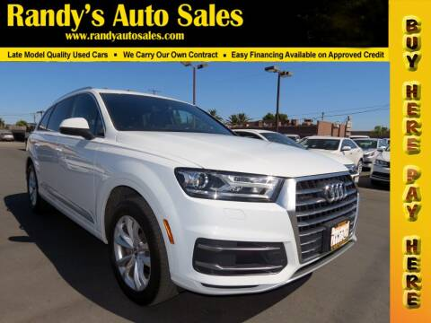 2017 Audi Q7 for sale at Randy's Auto Sales in Ontario CA
