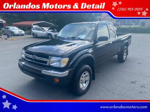 1999 Toyota Tacoma for sale at Orlandos Motors & Detail in Winston Salem NC