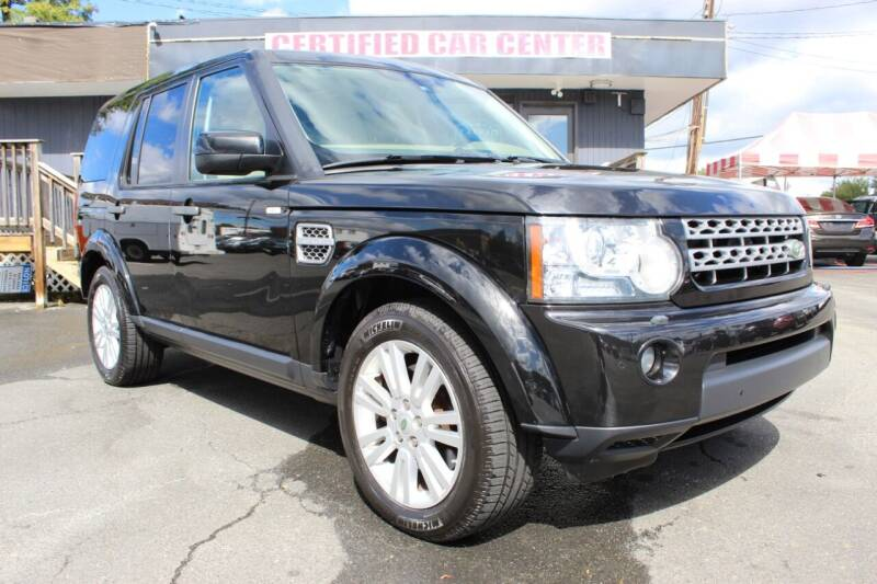 2010 Land Rover LR4 for sale at CERTIFIED CAR CENTER in Fairfax VA