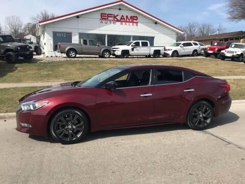 2017 Nissan Maxima for sale at Efkamp Auto Sales LLC in Des Moines IA