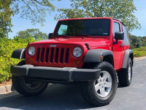 2009 Jeep Wrangler for sale at William D Auto Sales in Norcross GA