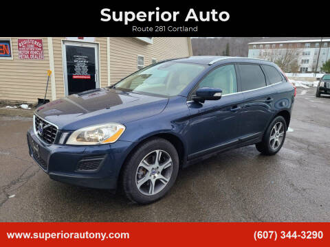 2013 Volvo XC60 for sale at Superior Auto in Cortland NY