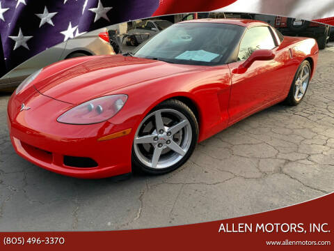 2005 Chevrolet Corvette for sale at Allen Motors, Inc. in Thousand Oaks CA
