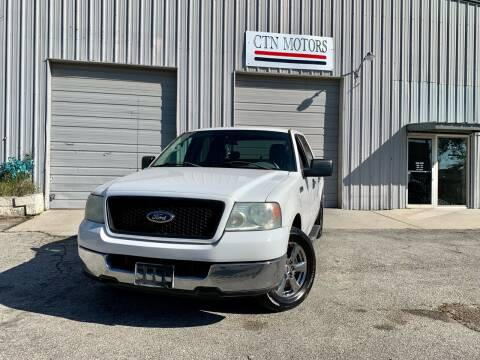 2004 Ford F-150 for sale at CTN MOTORS in Houston TX