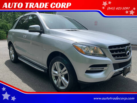 2012 Mercedes-Benz M-Class for sale at AUTO TRADE CORP in Nanuet NY