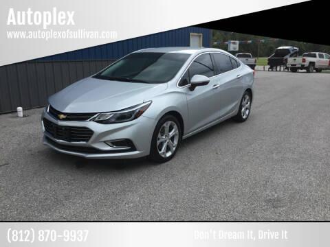 2017 Chevrolet Cruze for sale at Autoplex in Sullivan IN