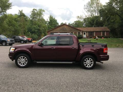 2007 Ford Explorer Sport Trac for sale at Lou Rivers Used Cars in Palmer MA