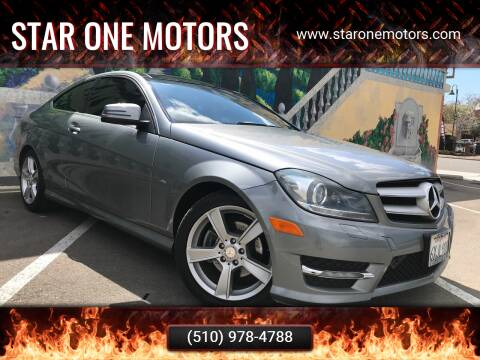 2012 Mercedes-Benz C-Class for sale at Star One Motors in Hayward CA