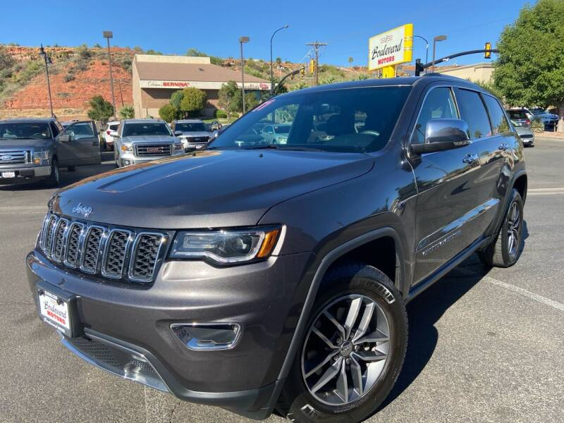 2017 Jeep Grand Cherokee for sale at Boulevard Motors in St George UT