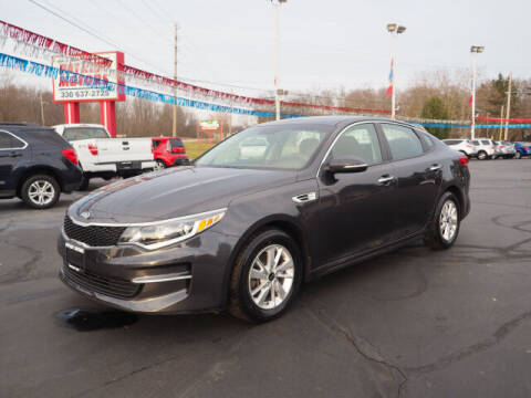 2017 Kia Optima for sale at Patriot Motors in Cortland OH