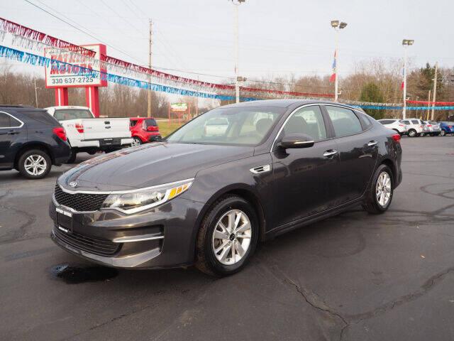 2017 Kia Optima for sale at Patriot Motors in Cortland OH