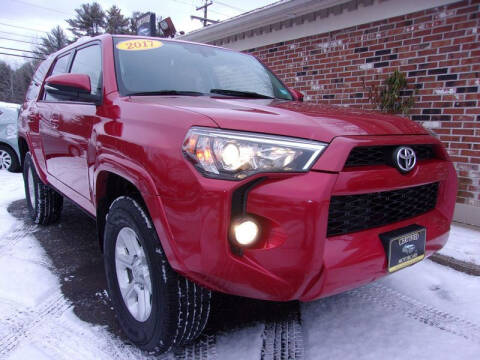 2017 Toyota 4Runner for sale at Certified Motorcars LLC in Franklin NH