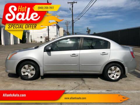 2011 Nissan Sentra for sale at AllanteAuto.com in Santa Ana CA