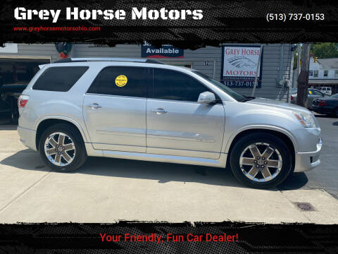 2012 GMC Acadia for sale at Grey Horse Motors in Hamilton OH