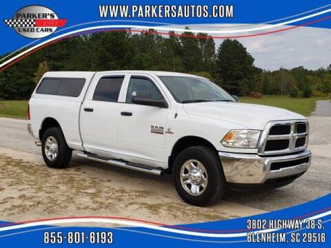 2017 RAM Ram Pickup 2500 for sale at Parker's Used Cars in Blenheim SC