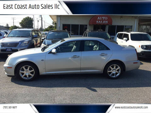 2006 Cadillac STS for sale at East Coast Auto Sales llc in Virginia Beach VA